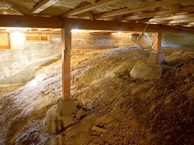 crawl space encapsulation in North Attleboro