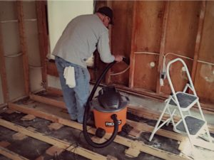 wall studs mold removal in lynchburg