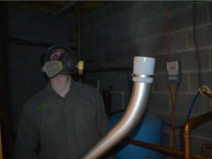 basement mold removal inspection in orange county