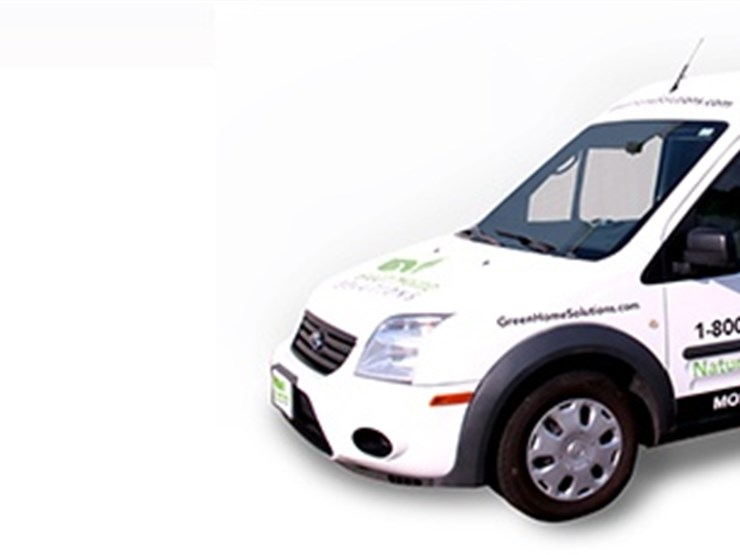 green home solutions van in redondo beach