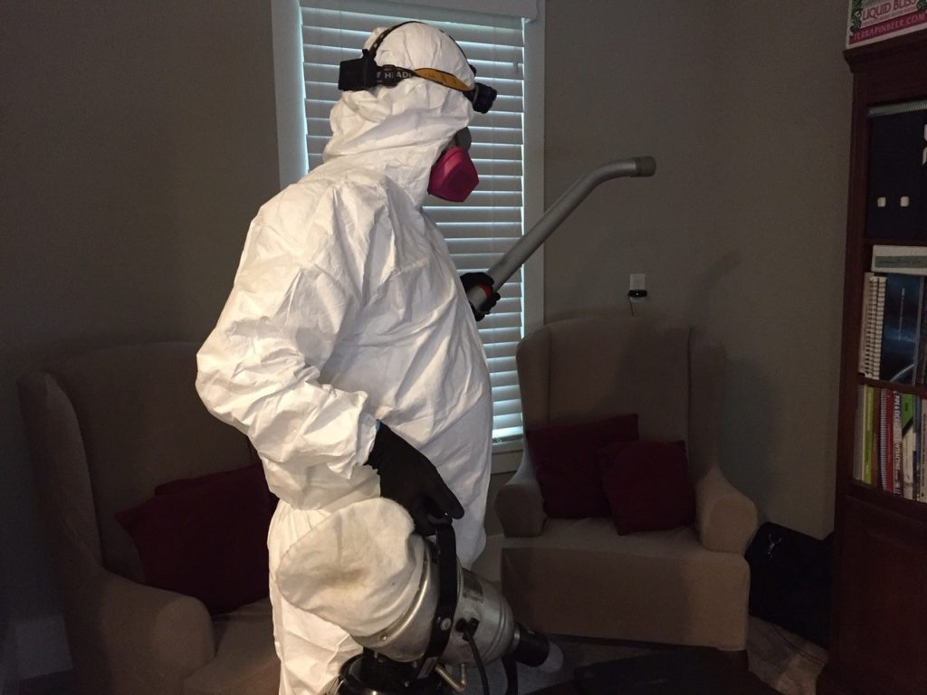 Expert using Our Disinfection Services in Portland