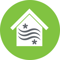 Indoor Air Quality Icon